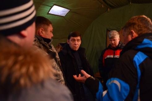 Куйвашев призвал свердловских муниципалов на службу