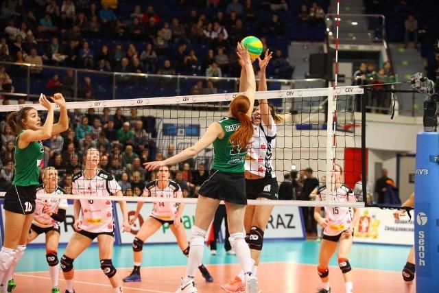 «Уралочка» поставила на колени чемпионок Германии по волейболу в Лиге чемпионов