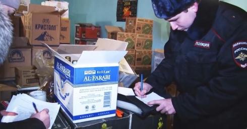 Несколько тысяч литров спиртного отобрали у бутлегеров на Урале