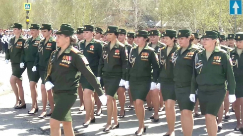 День Победы шагает по Уралу