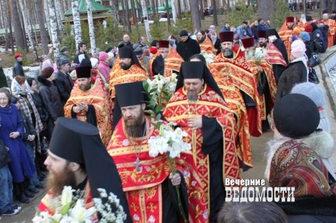 25 групп добровольцев будут сопровождать крестный ход из Екатеринбурга на Ганину Яму