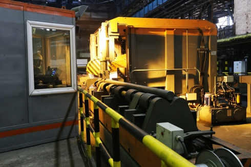 Импортозамещение: на комбинате ЕВРАЗ НТМК запущен новый производственный участок