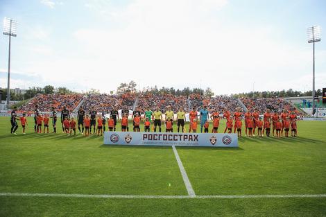 «Урал» и ЦСКА сыграли вничью