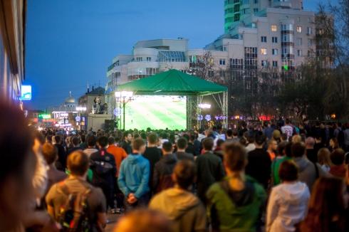 Екатеринбуржцы смогут посмотреть матч «Урал» — ЦСКА на большом экране