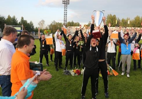 В Качканаре прошел корпоративный Кубок ЕВРАЗа по футболу