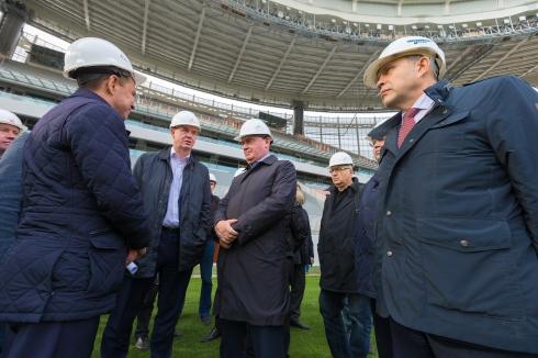 Замминистра строительства РФ проверил готовность «Екатеринбург Арены»