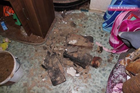 В одном из свердловских сел при обрушении в доме пострадал младенец