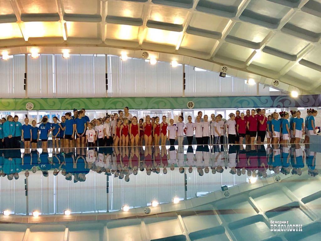 Екатеринбург занял первое место в общем зачёте на турнире по синхронному плаванию «Надежды Крыма»