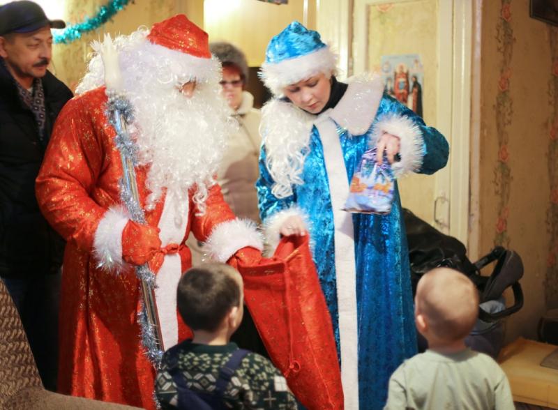 Общественники и ветераны полиции Кировграда приняли участие в акции «Полицейский Дед Мороз»